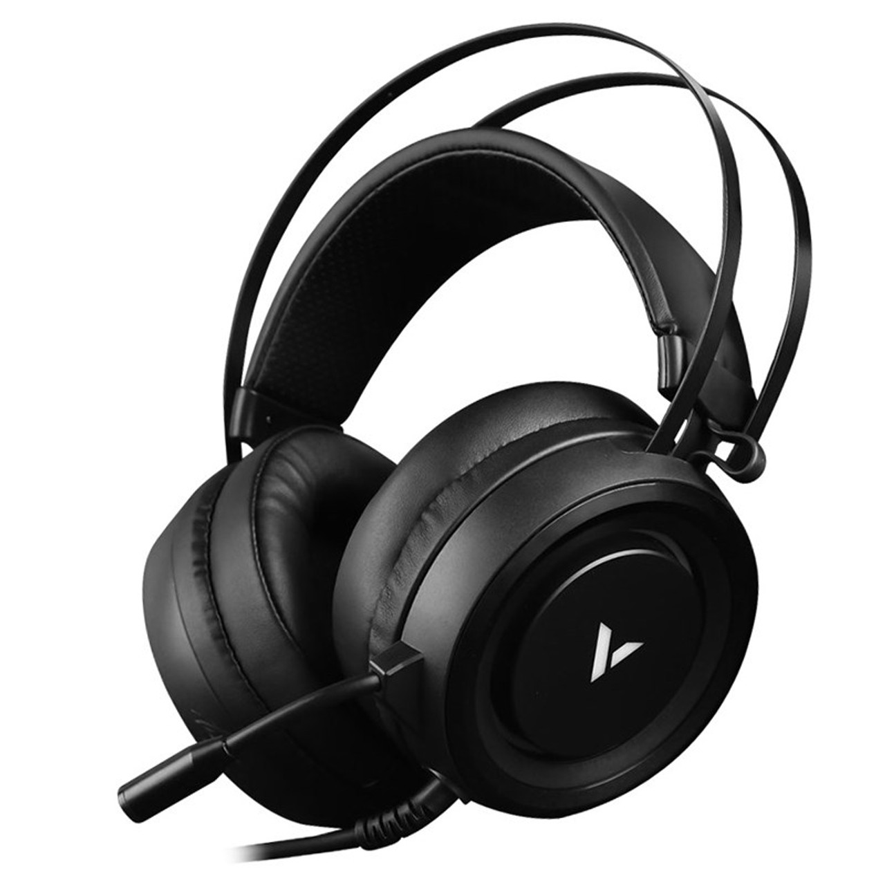Image for Rapoo VH500 Illuminated RGB Glow Virtual 7.1 USB Gaming Headset - Black CX Computer Superstore