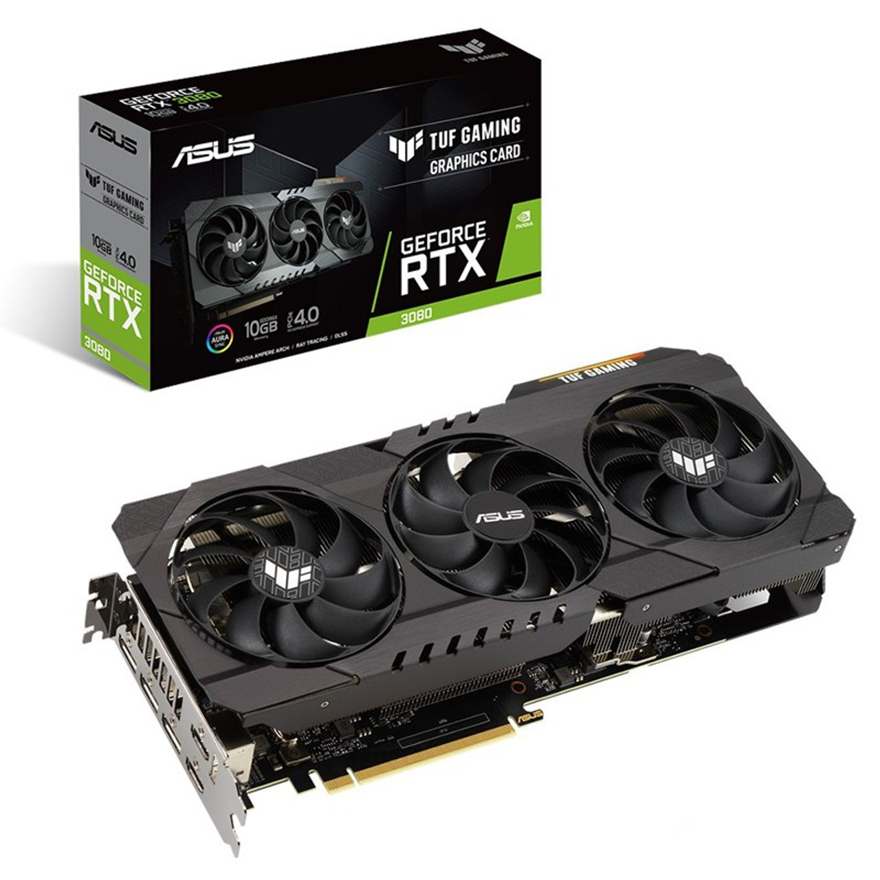 Image for Asus GeForce RTX 3080 TUF Gaming 10GB Video Card CX Computer Superstore
