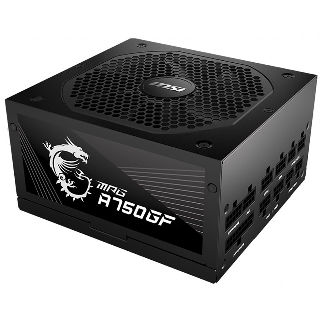 Image for MSI MPG A750GF 750W 80+ Gold Fully Modular ATX Power Supply CX Computer Superstore