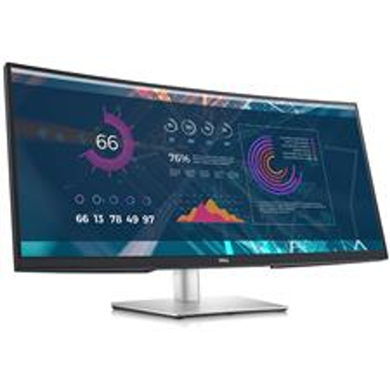 Dell P-Series P3421W 34in Ultra-Wide WQHD Curved USB-C IPS Monitor
