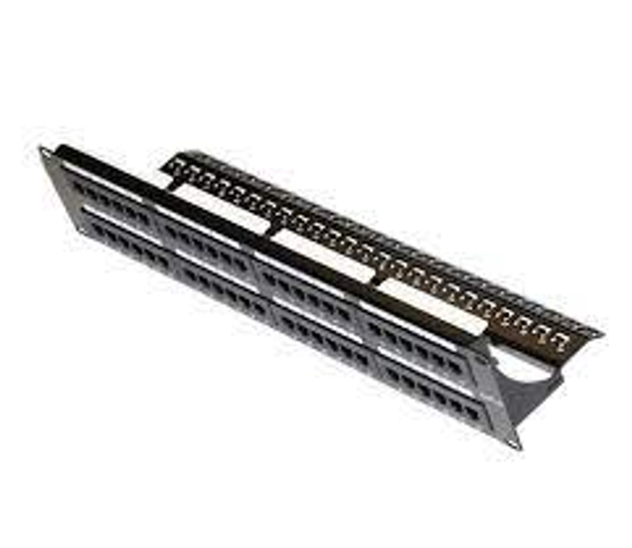48 Port CAT6 Patch Panel with cable Management