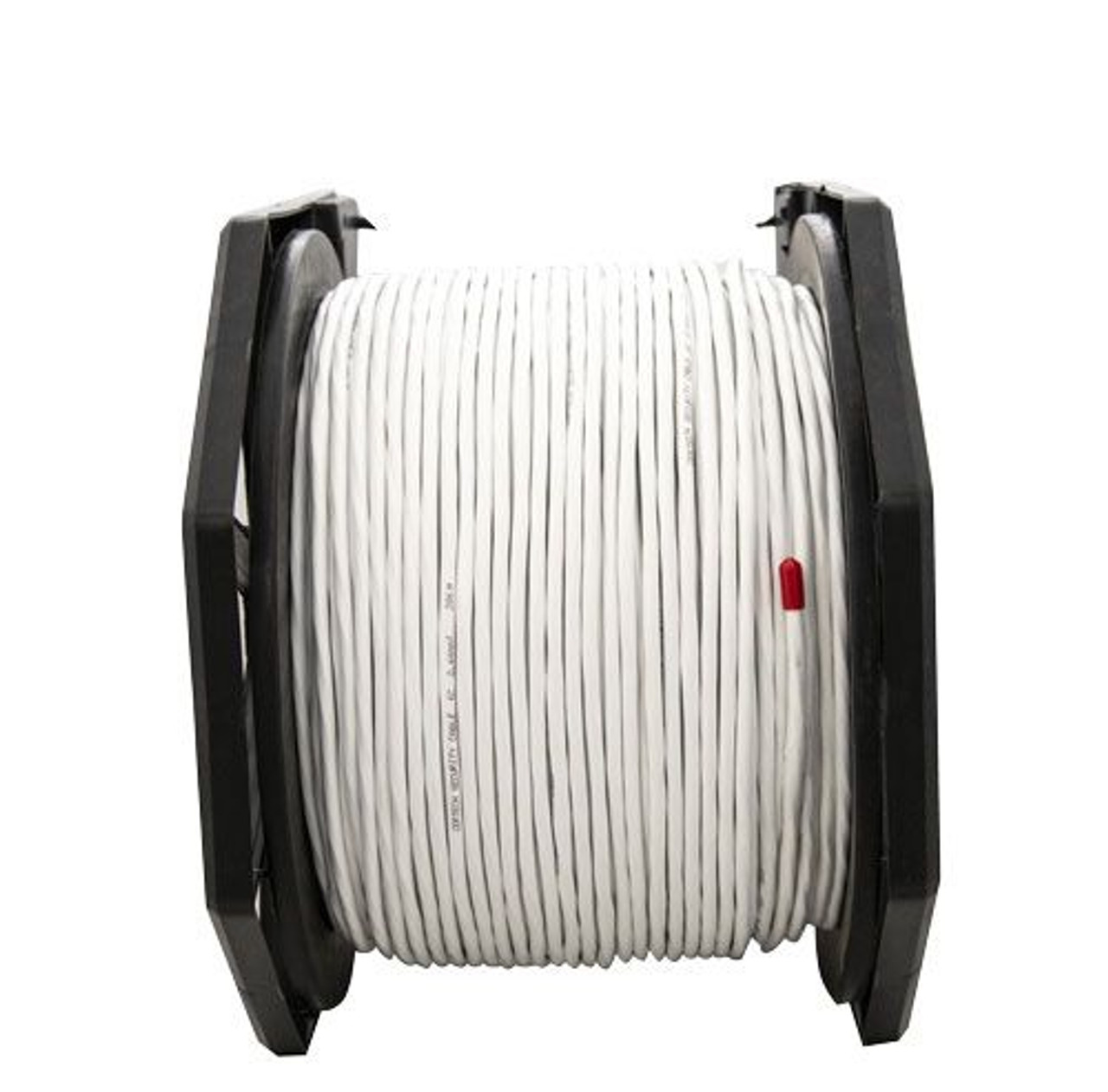 4Cabling 6 Core 14/020 Shielded, 200m Security Cable - White - LSZH