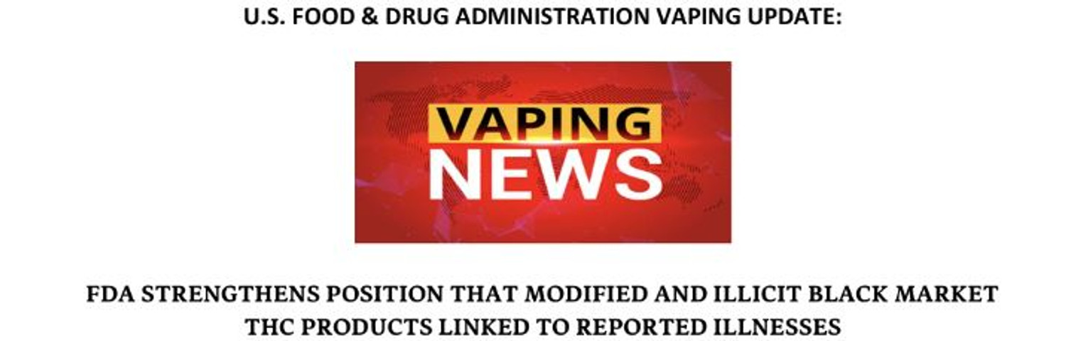 Vaping news update