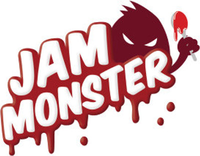 Jam Monster Liquids Comes in Apple,Blueberry,and Strawberry Flavors Only in 100ml bottles Nic 0.3.6