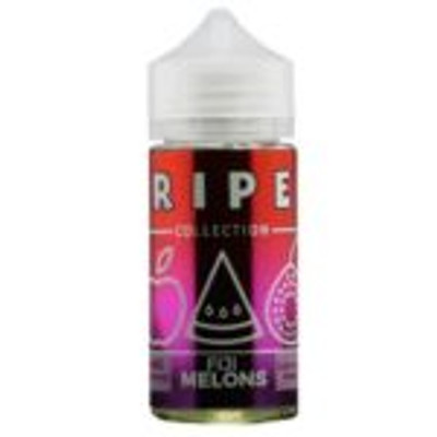 Fiji Melons by Vape 100 Ripe Collection The most exquisite Fuji apple and guava e-juice blended together with sweet watermelon for an amazing fruity vape