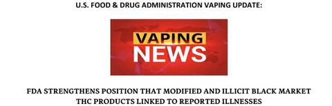 Vaping news update