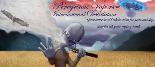 Peregrinus Vapors™ International Distribution