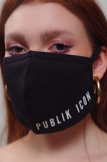 Publik Icon Mask- Black