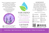 Lotion (Lavender) Label