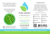 Lotion (Pure & Natural) Label