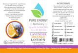 Lotion (Lavender Orange) Label
