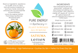 Lotion (Satsuma) Label