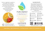 Lotion (Citrus) Label
