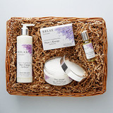 Pure Energy Apothecary Lavender Love shown in Gift Basket
