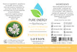 Lotion (Paperwhite) Label