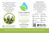 Lotion (Rosemary Mint) Label