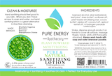 Sanitizing Lotion (Unscented) Label