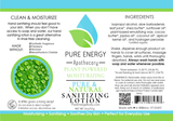Pure & Natural Sanitizing Lotion 2 oz Pure Energy Apothecary