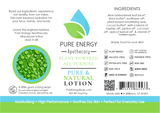 Pure & Natural All Purpose Lotion 2oz Pure Energy Apothecary Label