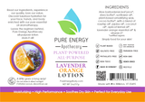 Lavender Orange All Purpose Moisturizing Lotion 2 oz Pure Energy Apothecary