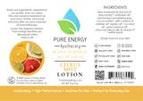 Citrus Mist All Purpose Moisturizing Lotion 2 oz Pure Energy Apothecary Label