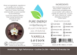 Vanilla All Purpose Moisturizing Lotion 2 oz Pure Energy Apothecary