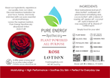 Paperwhite All Purpose Moisturizing Lotion 2 oz Pure Energy Apothecary Label