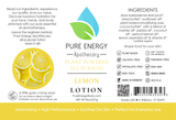 Lotion Label (Lemon)