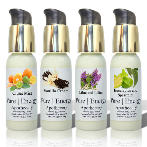 Body Lotion - Travel Size, Pure Energy Apothecary ( 4-PK-JOURNEY )