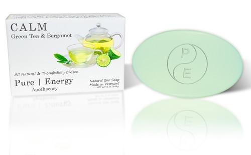 Soap Single (Green Tea & Bergamot)