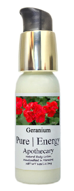 Body Lotion - Travel Size, Pure Energy Apothecary ( Geranium )