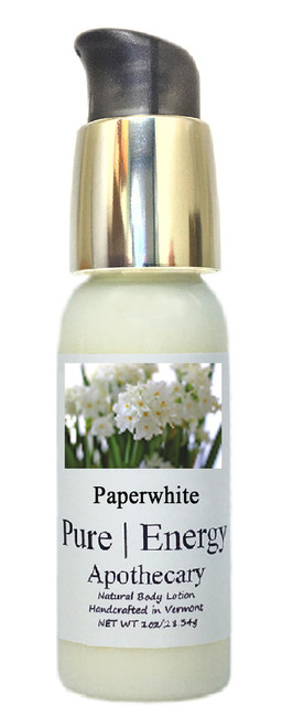 Body Lotion - Travel Size, Pure Energy Apothecary ( Paperwhite )