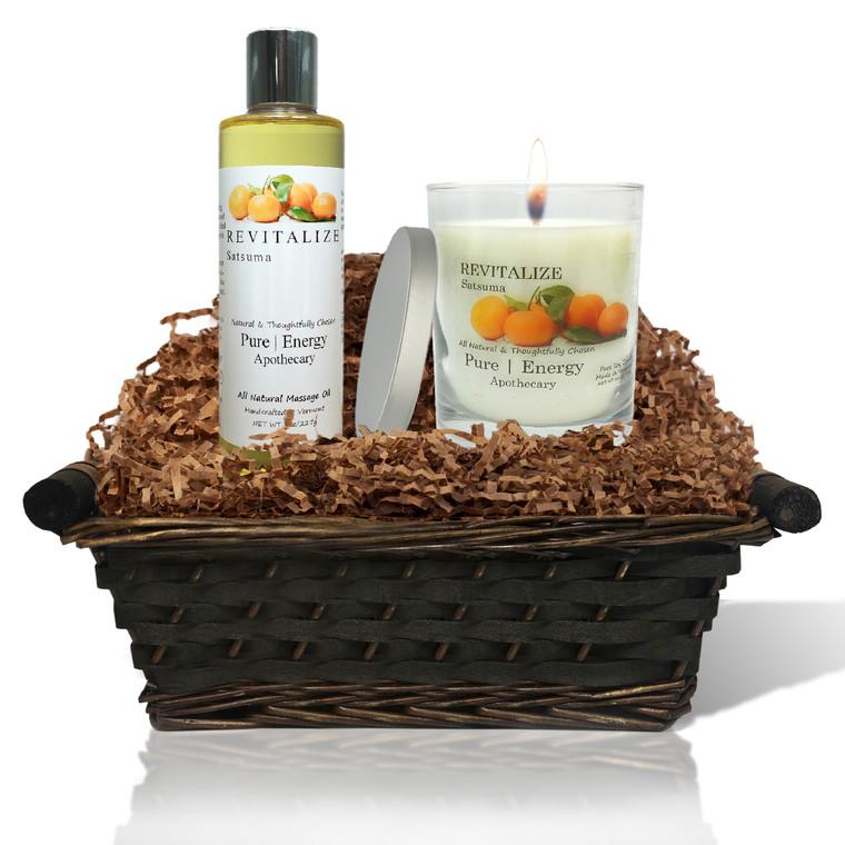 Relaxing Ritual Gift Basket (Satsuma)