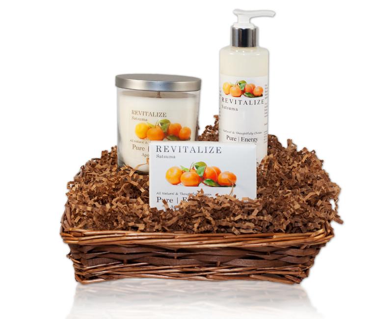 Nourishing Balance Gift Basket (Satsuma)