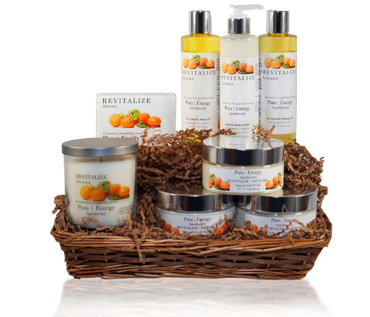Premium Spa Gift Basket (Satsuma)