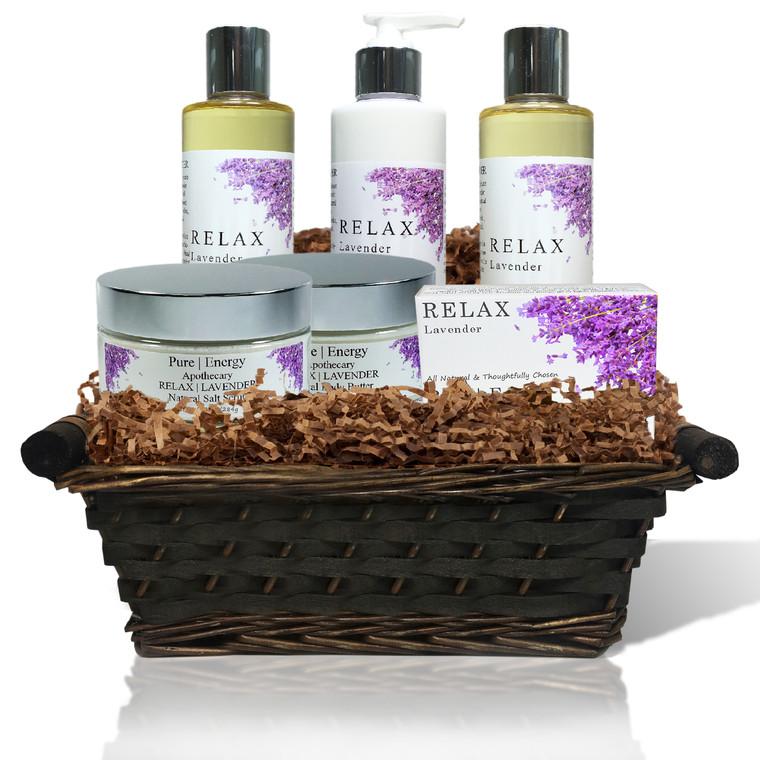 Ultimate Body Gift Basket (Lavender)