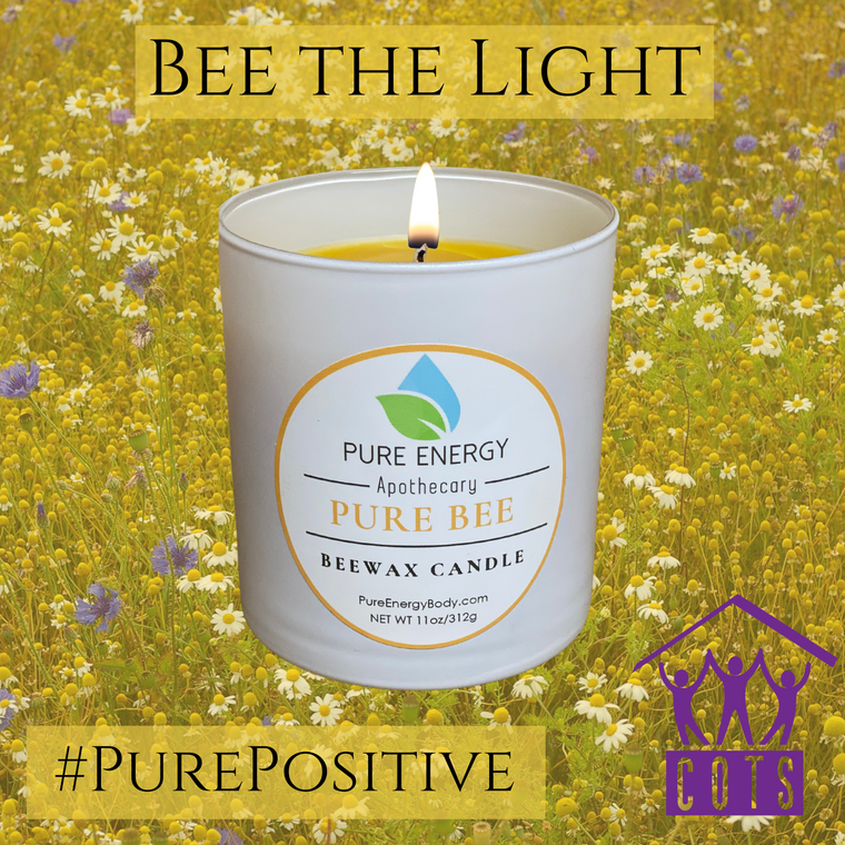 Bee the Light Candle (Beeswax)