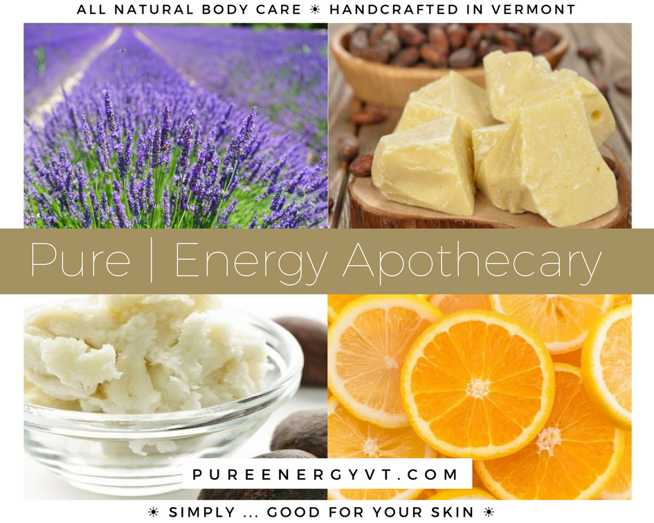Welcome to Pure|Energy Apothecary!  All natural body care + aromatherapy