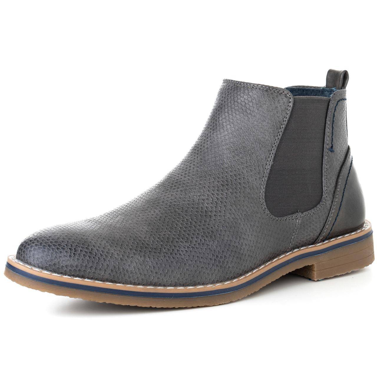 Alpine Swiss Mens Nash Chelsea Boots