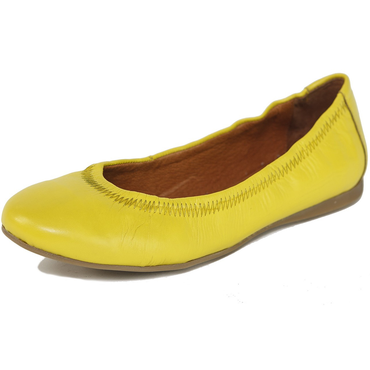 7f262428e Alpine Swiss Womens Shoes Ballet Flats Genuine European Leather ...