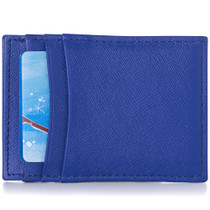 Alpine Swiss Mens Top Grain Leather Minimalist Money Clip Front Pocket Wallet