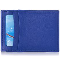 Alpine Swiss Mens Top Grain Leather Minimalist Money Clip Front Pocket Wallet