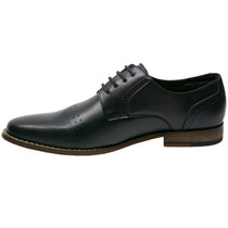 Alpine Swiss Double Diamond Mens Genuine Leather Lace up Oxfords Dress Shoes