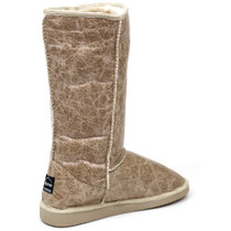 "Alpine Swiss Womens 11.5"" Tall Mid Calf Winter Boots Faux Shearling Aussie Classic"