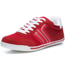 Alpine Swiss Liam Mens Fashion Sneakers Suede Trim Low Top Lace Up Tennis Shoes