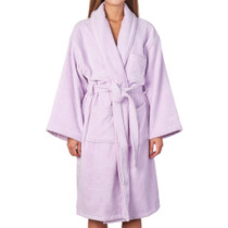 Alpine Swiss Blair Womens Cotton Terry Cloth Bathrobe Shawl Collar Velour Spa Robe