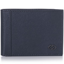 Alpine Swiss Double Diamond Mens RFID Slim Bifold