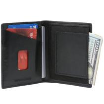 Alpine Swiss Double Diamond RFID Business Card Case Wallet