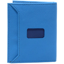 Alpine Swiss Double Diamond RFID Stretch Front Pocket Wallet