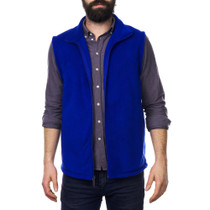 Alpine Swiss Ethan Mens Lightweight Full Zip Up Fleece Vest
